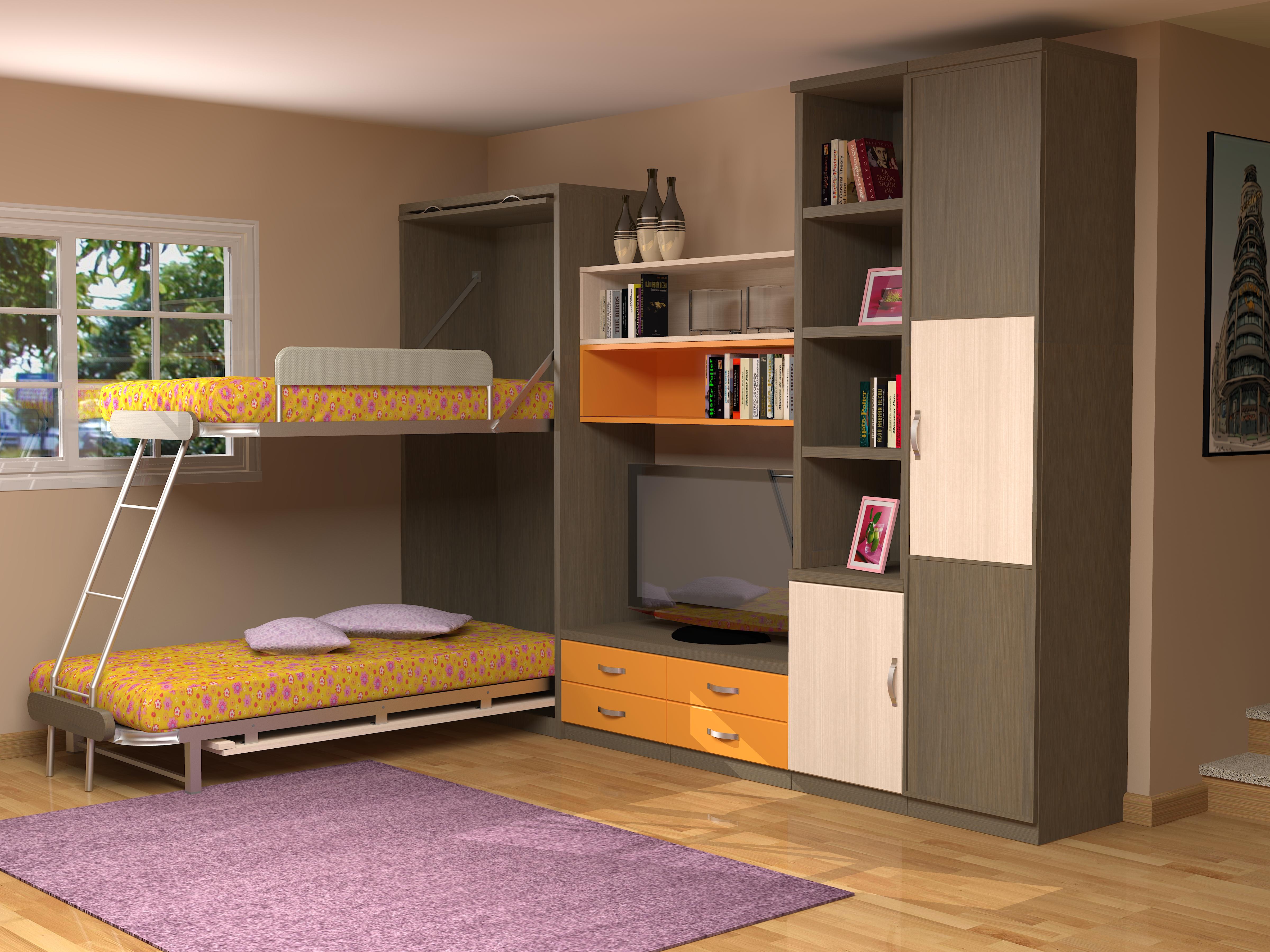 Soluciones de espacio en juveniles kimobel dise o - Soluciones para dormir ...