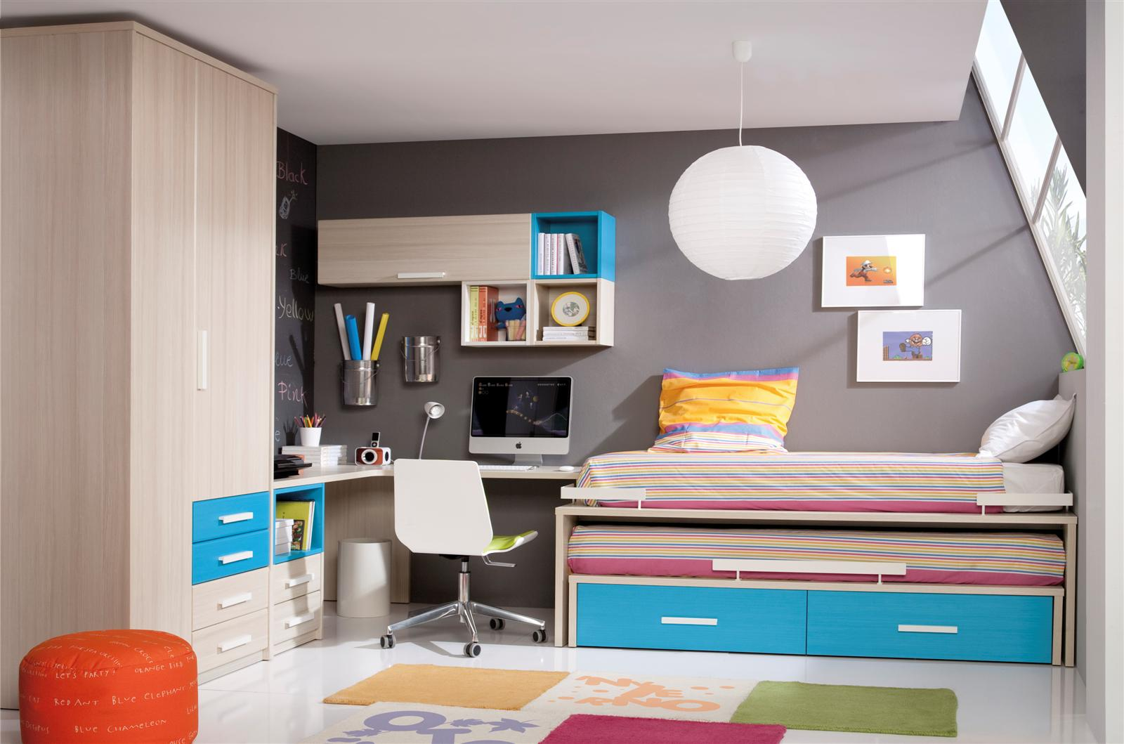 Psicolog a del color para decorar habitaciones infantiles for Decorar paredes dormitorio juvenil