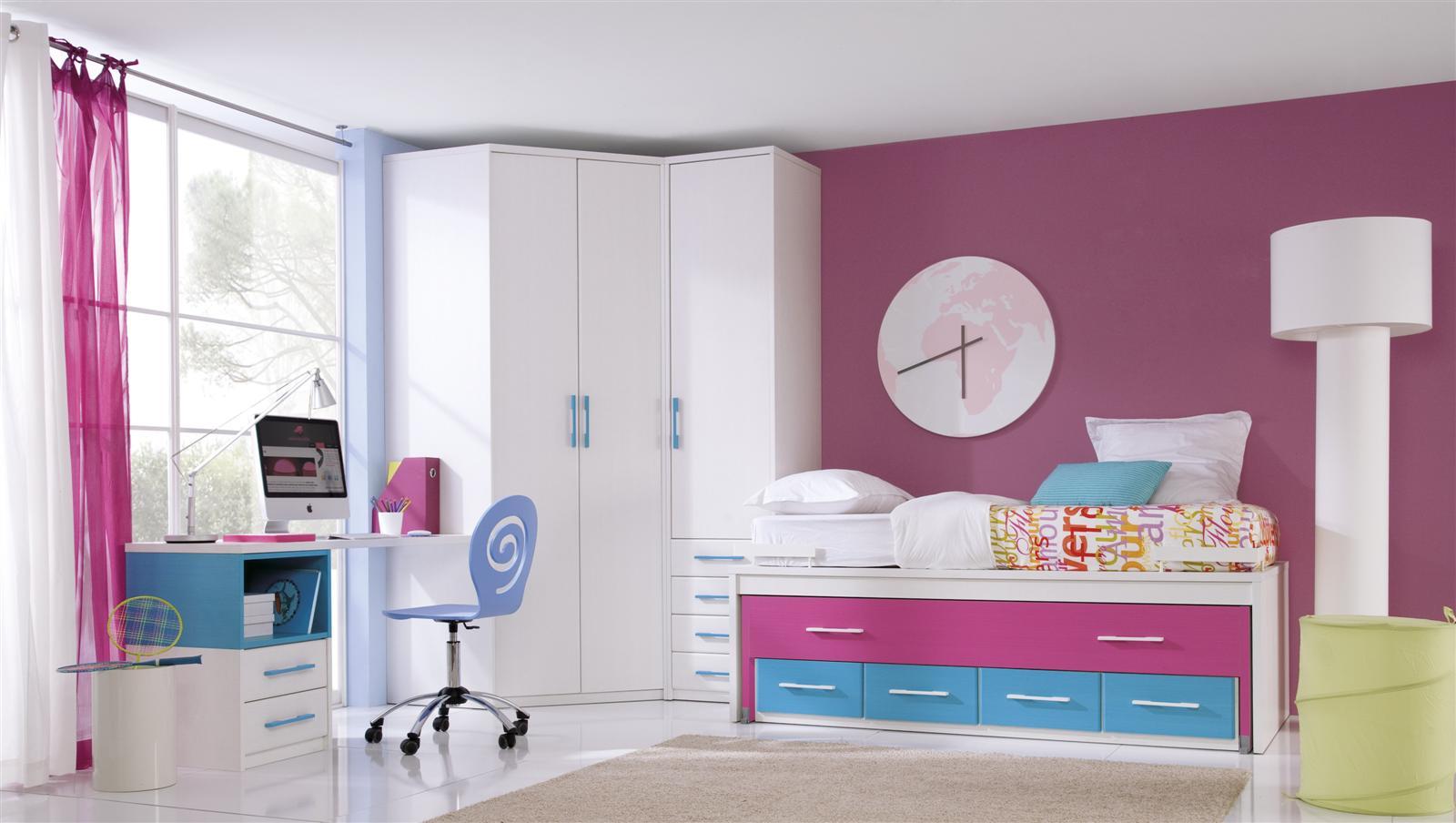 Psicolog a del color para decorar habitaciones infantiles - Dormitorio infantil segunda mano ...