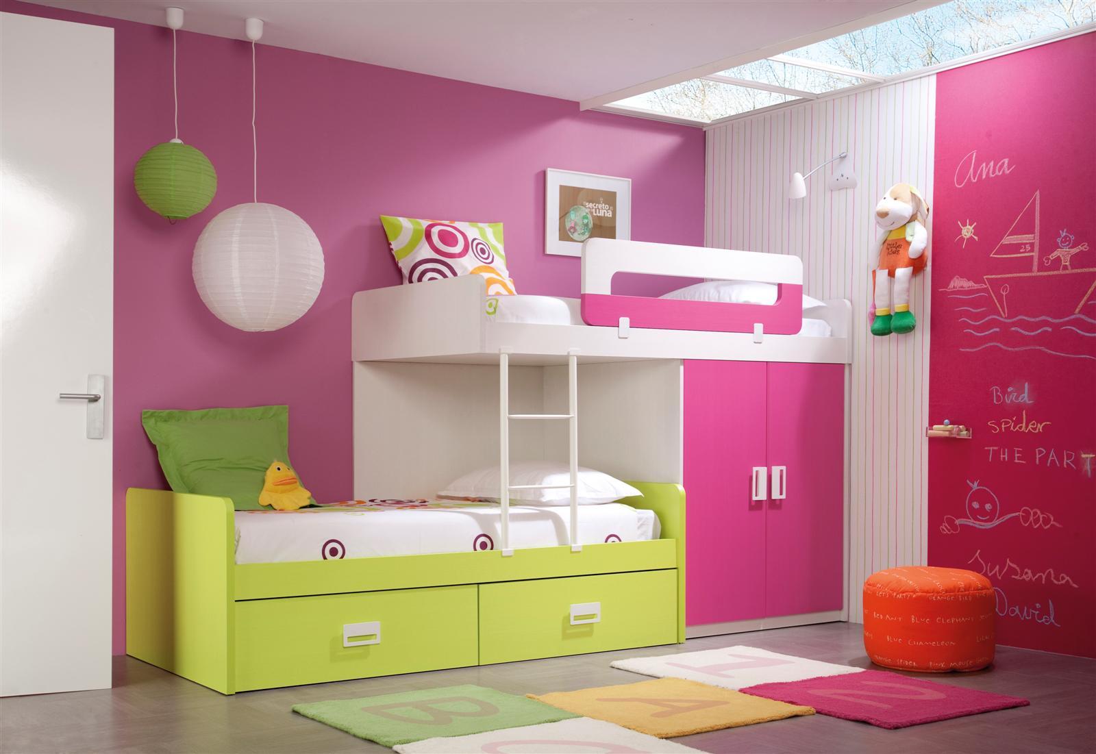 Psicolog a del color para decorar habitaciones infantiles - Silestone morado ...