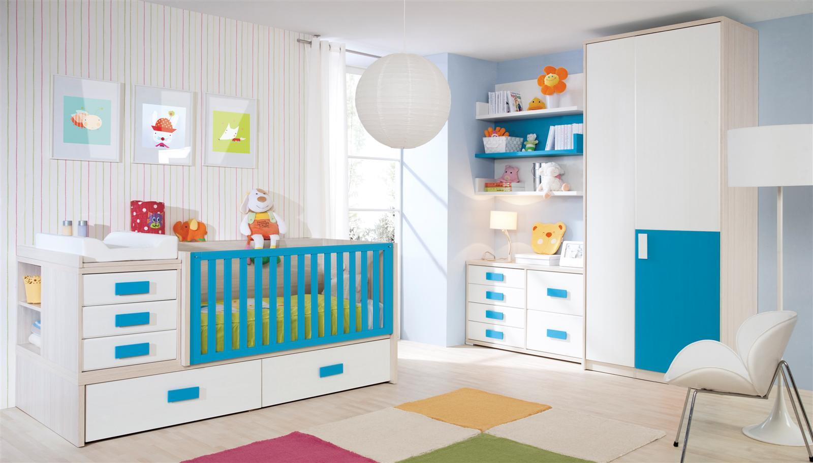 Psicolog a del color para decorar habitaciones infantiles - Habitaciones infantiles decoradas ...