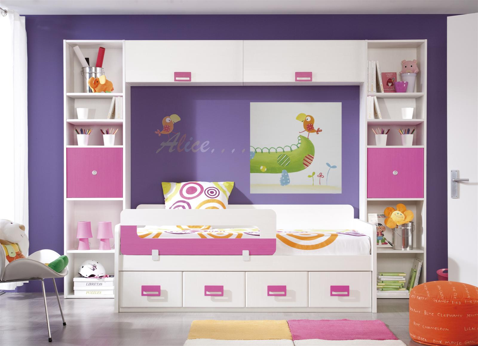 Psicolog a del color para decorar habitaciones infantiles for Ideas para decorar dormitorios infantiles