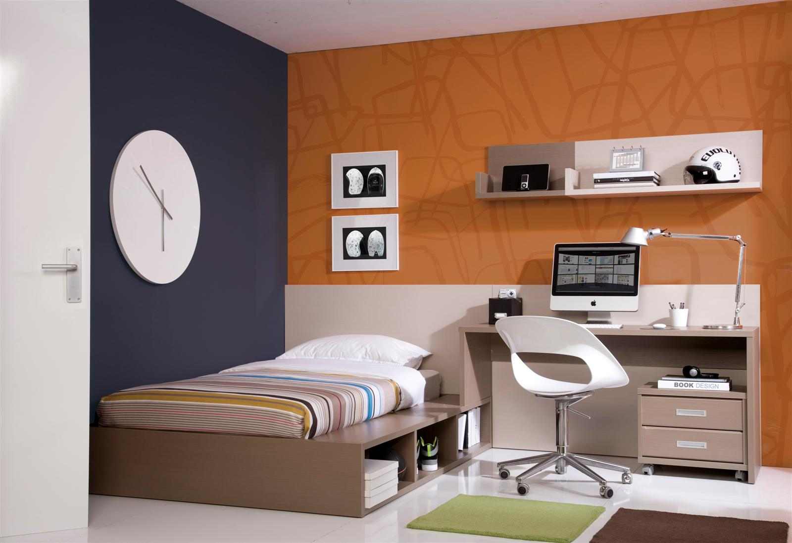 Psicolog a del color para decorar habitaciones infantiles for Dormitorio hombre
