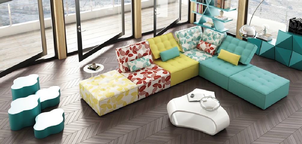 Sof modular n mada kimobel dise o muebles decoraci n - Colores de sofas ...
